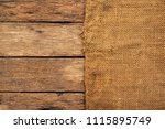 brown sack or the background of ... | Shutterstock . vector #1115895749