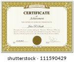 vector illustration of gold... | Shutterstock .eps vector #111590429