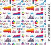 diagram chart graph elements... | Shutterstock .eps vector #1115906639