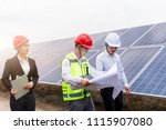 a developer and engineer... | Shutterstock . vector #1115907080