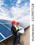 work content of engineering... | Shutterstock . vector #1115907128