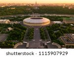 moscow may 25  2018  aerial... | Shutterstock . vector #1115907929