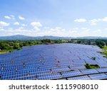 solar power station | Shutterstock . vector #1115908010