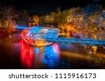 beautiful panorama view of...   Shutterstock . vector #1115916173