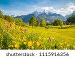 beautiful view of idyllic...   Shutterstock . vector #1115916356