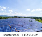 aerial power station | Shutterstock . vector #1115919224