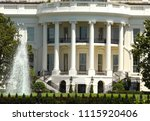 the white house  washington dc | Shutterstock . vector #1115920406