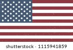 vector usa flag background with ... | Shutterstock .eps vector #1115941859