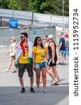 rostov on don  russia june 16... | Shutterstock . vector #1115952734