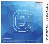 cricket stadium icon   free... | Shutterstock .eps vector #1115953379