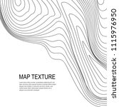 topographical vector background ... | Shutterstock .eps vector #1115976950