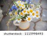 midsummer in latvia ... | Shutterstock . vector #1115998493
