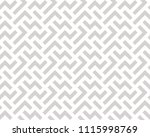 abstract geometric pattern with ... | Shutterstock . vector #1115998769