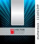 eps10 abstract vector design... | Shutterstock .eps vector #111601349