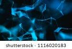 abstract digital background.... | Shutterstock . vector #1116020183