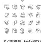 stationery well crafted pixel...   Shutterstock .eps vector #1116020999