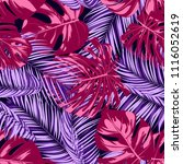 bright tropic seamless pattern... | Shutterstock .eps vector #1116052619