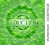 reduction realistic green... | Shutterstock .eps vector #1116076118