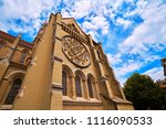 lausanne city notre dame...   Shutterstock . vector #1116090533