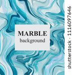 blue turquoise marble... | Shutterstock .eps vector #1116097646
