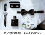 beautiful wedding clothes for...   Shutterstock . vector #1116100430