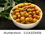 homemade indian curry dish ... | Shutterstock . vector #1116103406