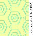 seamless pastel pattern of... | Shutterstock .eps vector #1116115100
