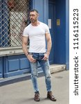 street fashion concept....   Shutterstock . vector #1116115223