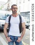 street fashion concept....   Shutterstock . vector #1116115226