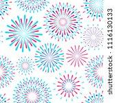 vector seamless pattern of... | Shutterstock .eps vector #1116130133