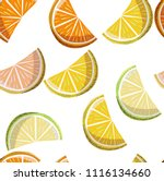 beautiful bright colorful... | Shutterstock .eps vector #1116134660