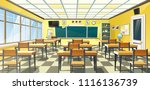 vector illustration of an empty ... | Shutterstock .eps vector #1116136739