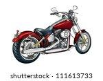 illustration  drawing digitally ... | Shutterstock . vector #111613733