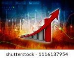 3d rendering stock market... | Shutterstock . vector #1116137954