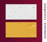modern vector templates.... | Shutterstock .eps vector #1116148103