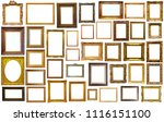 collection of isolated old... | Shutterstock . vector #1116151100