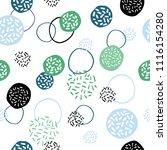 vector seamless creative... | Shutterstock .eps vector #1116154280