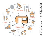 colorful elements of icons in...   Shutterstock .eps vector #1116165503