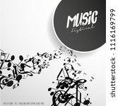 abstract music festival...   Shutterstock .eps vector #1116169799