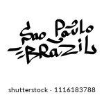 graffiti tags inscription... | Shutterstock .eps vector #1116183788