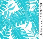 tropical seamless pattern with... | Shutterstock .eps vector #1116200723