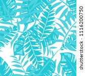 tropical seamless pattern with... | Shutterstock .eps vector #1116200750
