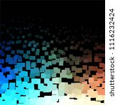 squared colorful vector... | Shutterstock .eps vector #1116232424