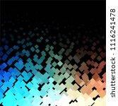 vintage halftone color texture... | Shutterstock .eps vector #1116241478
