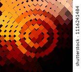 vintage halftone color texture... | Shutterstock .eps vector #1116241484