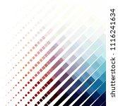 vintage halftone color texture... | Shutterstock .eps vector #1116241634