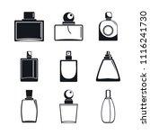 fragrance bottles aroma flavor... | Shutterstock .eps vector #1116241730