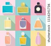 fragrance bottles aroma flavor...   Shutterstock .eps vector #1116241736