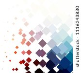 squared colorful vector... | Shutterstock .eps vector #1116243830
