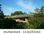 bridge in rastoke  croatia      ... | Shutterstock . vector #1116252263